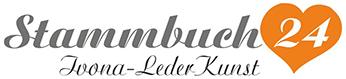 Stammbuch 24 - Handgearbeit und exclusiv-Logo
