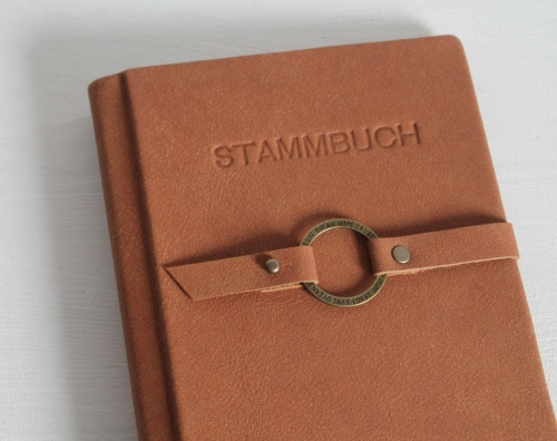 "Stammbuch ""Love · Dream · Hope · Trust"", cognac"